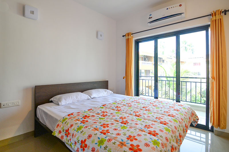 One Bhk Apartments For Rent In Goa Goastaycation Arpora
